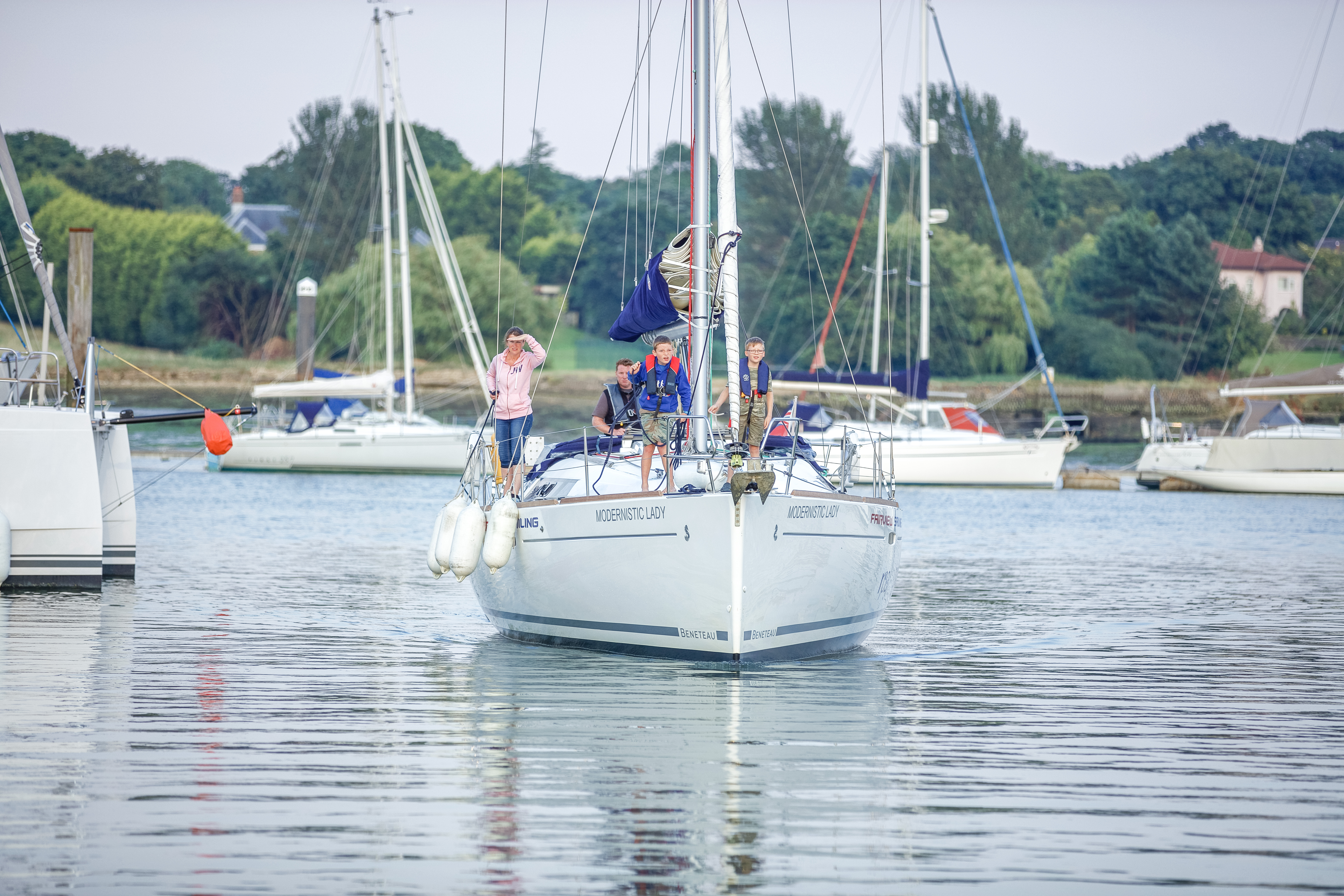 Boat handling course