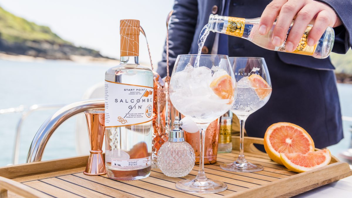 Exclusive offer - book a charter for April and we'll give you a bottle of gin!