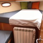 Bavaria 50 forward cabin 1