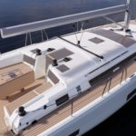Overhead artists impression of the Dufour 470